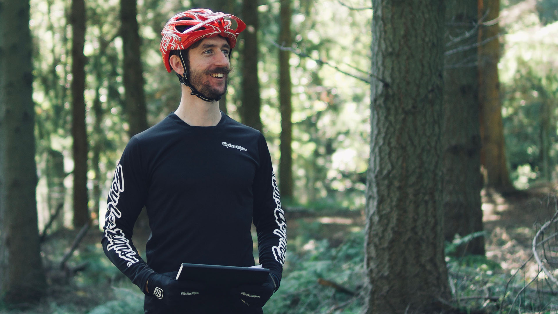 +3 MTB Suspension Tech Will Soffe is always smiling on our coaching events